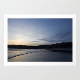 Sunset at Neah Bay, WA Art Print