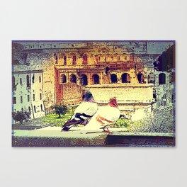 Romantic Rome Canvas Print