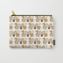 fall squirrels Carry-All Pouch