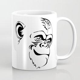 portrait chimpanzee Coffee Mug