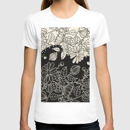 FLOWERS EBONY AND IVORY T-shirt