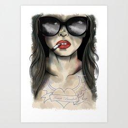 Heart Breaker Art Print