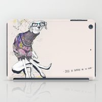 dog iPad Cases featuring Dog by Anion