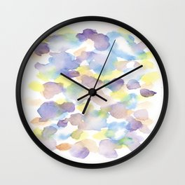 150725 My Happy Bubbles 18 Wall Clock