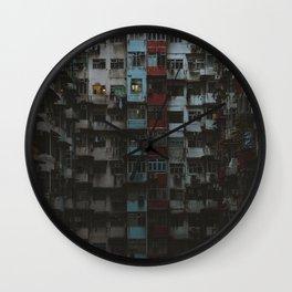 Hong Kong Estates Wall Clock