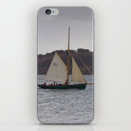 Reefed in and Underway iPhone Skin