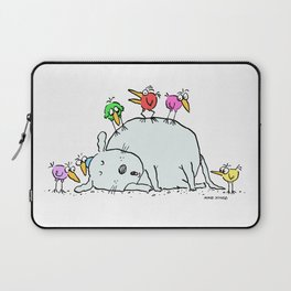 Sleeping with an Audience Laptop Sleeve