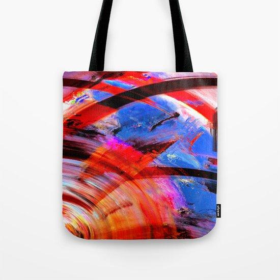Sky Spin Tote Bag