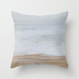 seashore iii / california Throw Pillow