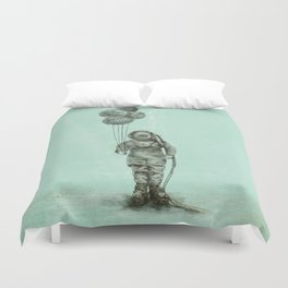 Balloon Fish Duvet Cover
