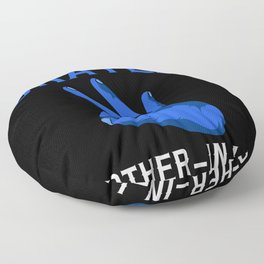 World's Okayest Brother-In-Law Family Floor Pillow