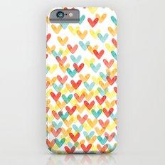 Falling Hearts iPhone 6s Slim Case