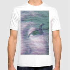 Kingdom of the little seagull Mens Fitted Tee MEDIUM White