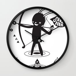 SORRY I MUST LIVE - DUEL 2 VER B ULTIMATE WEAPON ARROW  Wall Clock