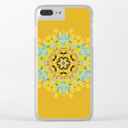 bee's flwer alone Clear iPhone Case