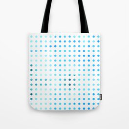 Polka Dot-Blue Tote Bag