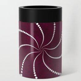Zen Floral Mandala Can Cooler