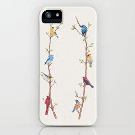 Bird Branches iPhone Case