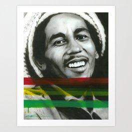'Marley' Art Print