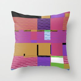 Explosion 3 Throw Pillow