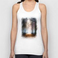 agnes Tank Tops featuring Enchanted Forest by Viviana Gonzalez