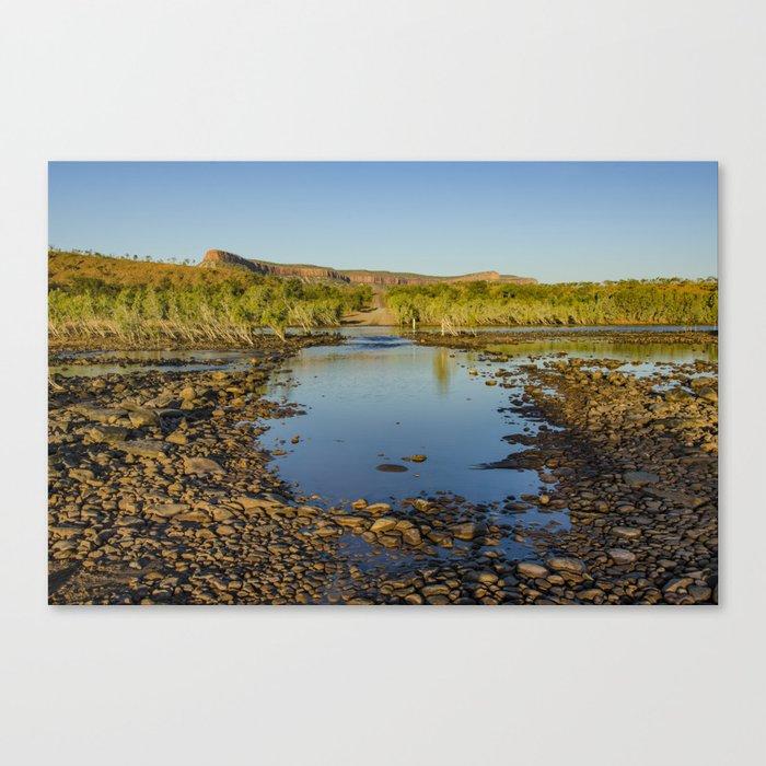 Pentecost River Crossing Canvas Print