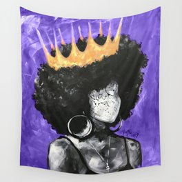 Naturally Queen II PURPLE Wall Tapestry