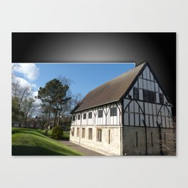 Hospitium out of bounds in museum gardens York Canvas Print