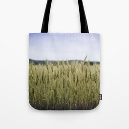 Grain Almost Ready For Harvest Tote Bag