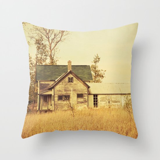 Lonely World Throw Pillow