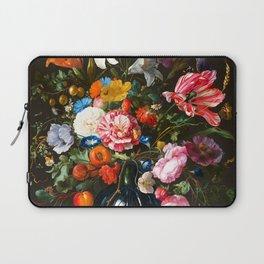 "Jan Davidsz de Heem ""Vase of Flowers"" Laptop Sleeve"