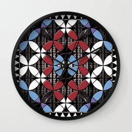 African Cowrie Shells Wall Clock