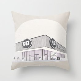 I Assure You, We're Open (clerks) Throw Pillow