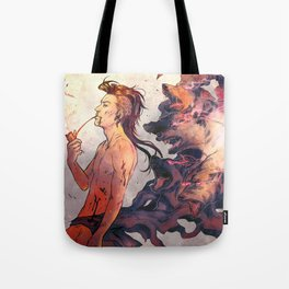 King of dogs - Nuvat Tote Bag