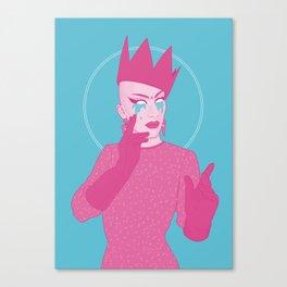 Sasha Velour Canvas Print