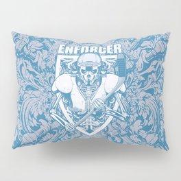 Enforcer Ice Hockey Player Skeleton Pillow Sham