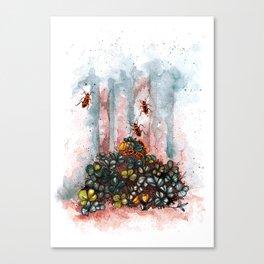 spring feel Canvas Print