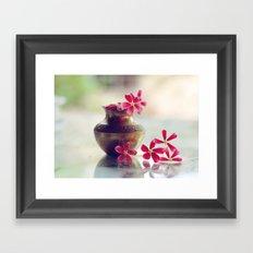 -O- Framed Art Print