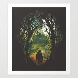 It's Dangerous to go Alone V.2 Art Print