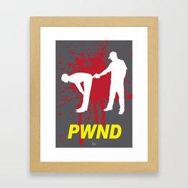 PWND Framed Art Print