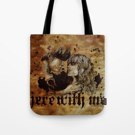 Here with me Tote Bag