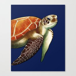 Return to Sea Canvas Print
