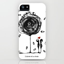 """""""L'amore accade"""" iPhone Case"""