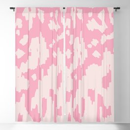 Modern Abstract Ikat Pink P  #homedecor Blackout Curtain