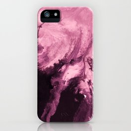 inkblot marble 6 iPhone Case
