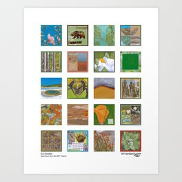 Go Outside - Selections from the 2011 Project Art Print
