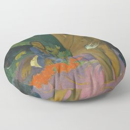 Paul Gauguin - Parau na te Varua ino (Words of the Devil) Floor Pillow