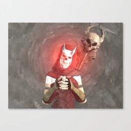 Red Foxxya Canvas Print