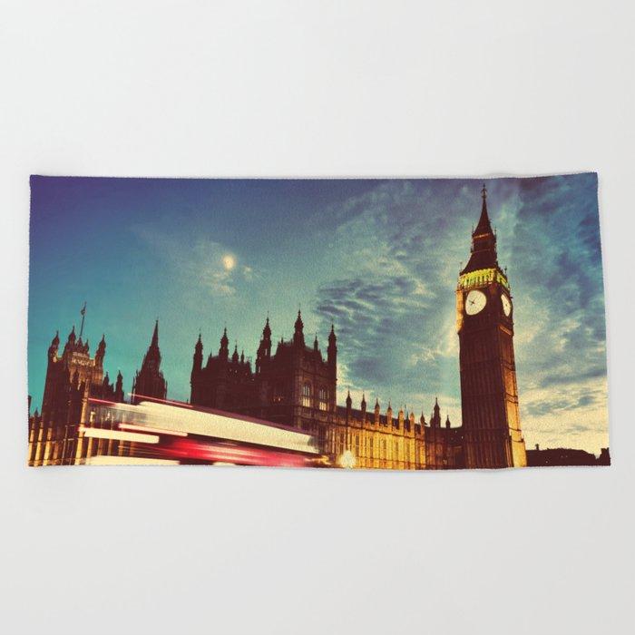 London Beach Towel