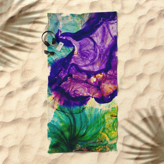 New Garden Beach Towel